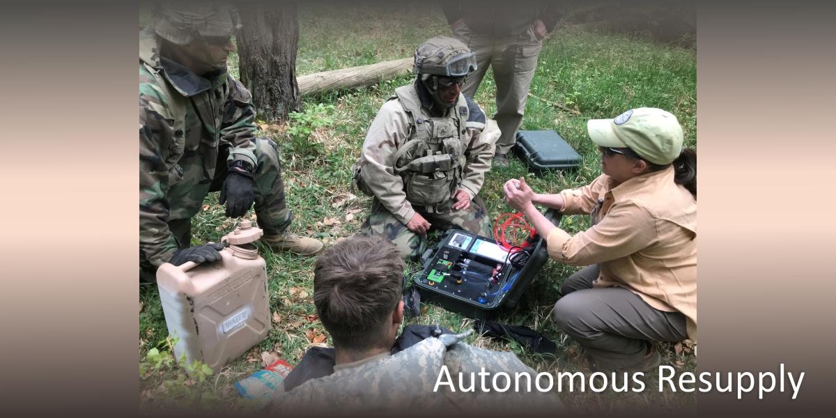 military, water supply, autonomous resupply