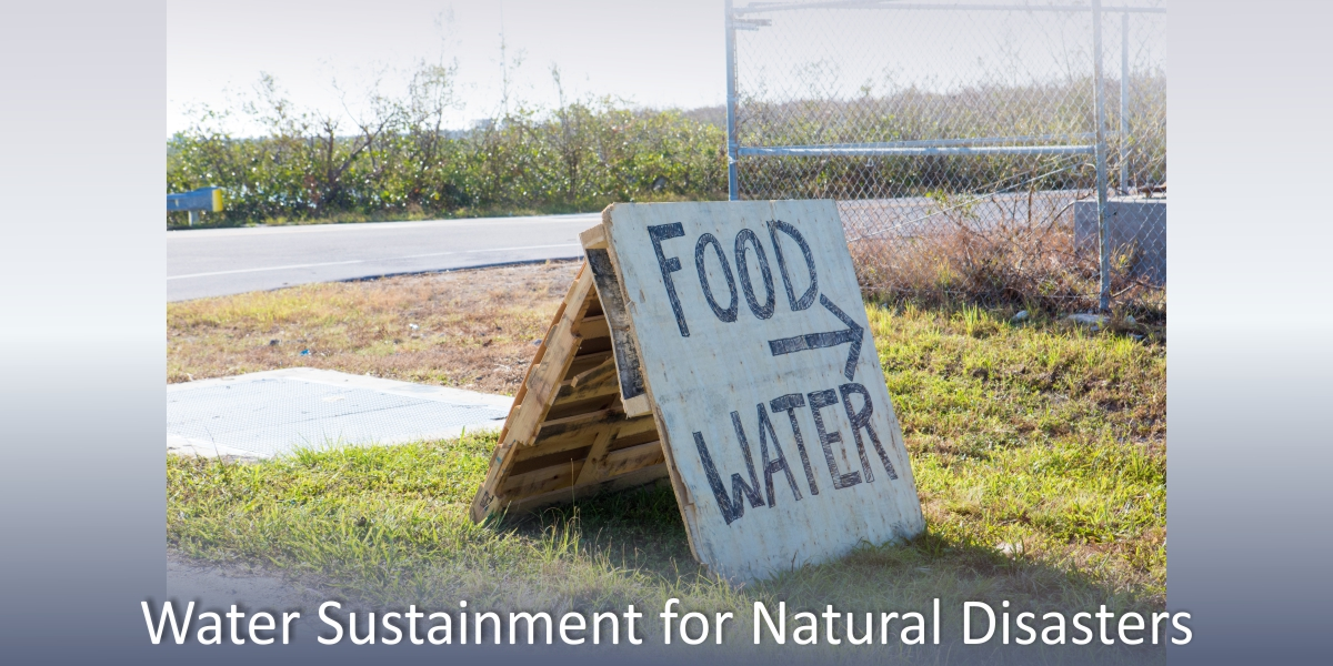 natural disasters, water supply, clean water, portable water purification